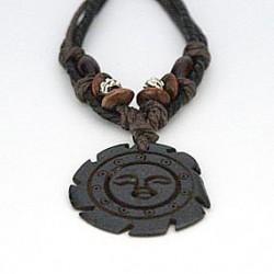 Afrikansk halskæde med sol