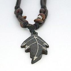 Afrikansk halskæde med blad