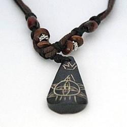 Afrikansk halskæde med dråbe