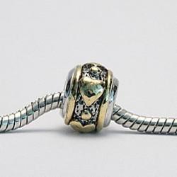 Guld-hjerter med sølv