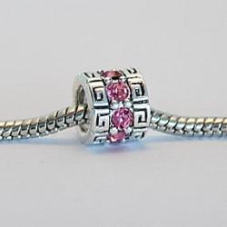 Mønster med lyserøde sten