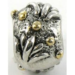 Charms med små guld-kugler