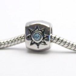 Stjerne med blå sten