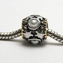 Mønster med perle